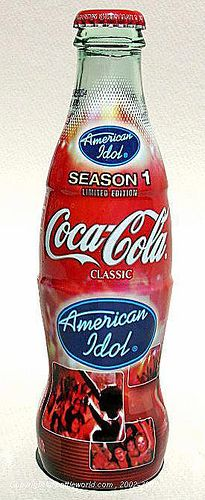 Coca Cola - American Idol Season 1 Limited Edition Bottle