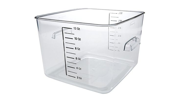 Rubbermaid 12-Quart Tub | Food & Wine goes way beyond mere eating and drinking. We're on a mission to find the most exciting places, new experiences, emerging trends and sensations.