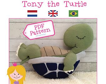 PDF Pattern Tony the Turtle by SuperSkattig  https://www.etsy.com/nl/search?q=superskattig