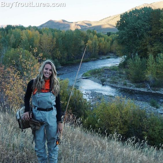Incredible trout fishing stream | Girls who fly fish | Trout fishing