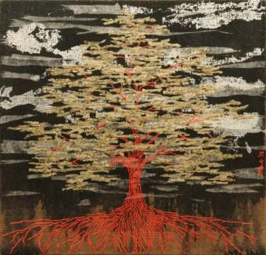 "Saatchi Art Artist Gian Luigi Delpin; Painting, ""lost memories tree"" #art"
