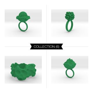 Intergalactic Green #3Dprint #3Dprintedjewelry #melinablazevicstudio #shapeways #3Dprinting #jewelry #intergalactic #exoplanets #iterativedesign #generativedesign #parametricdesign #design #productdesign #mesh #meshpattern #wireframe #fashion #fashiondesign