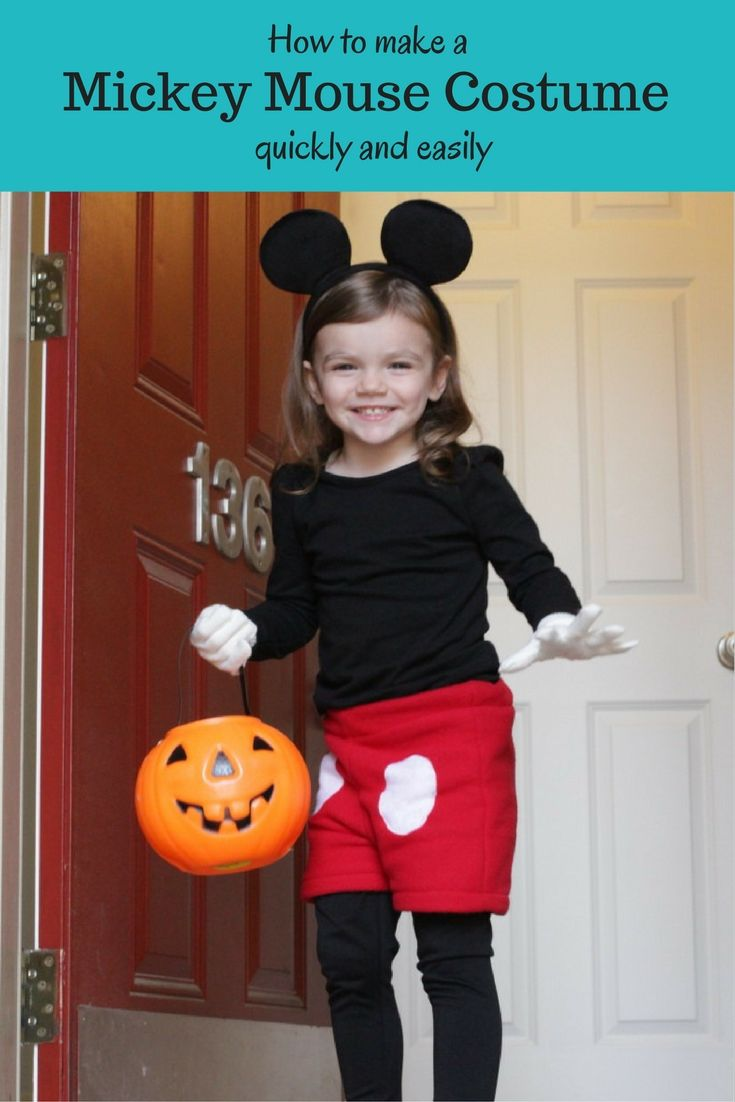 toddler mickey mouse costume with fleece shorts
