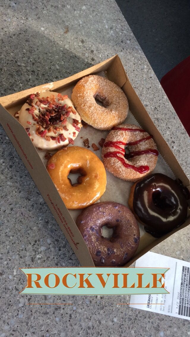 Duck Donuts.  https://duckdonuts.com 1327 rockville pike, Rockville, Maryland. Maple bacon