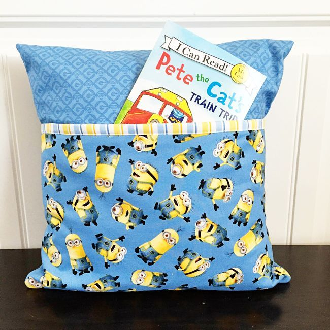 26e01f0ada Fort Worth Fabric Studio  Pocket Pillow Tutorial + Kits