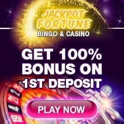 Celebrate the Grand Opening of Jackpot Fortune! Play Casino games: 3D Slots, Poker BlackJack roulette Craps rummy and much more!  #internetbingosites #slotsonline #casinogames