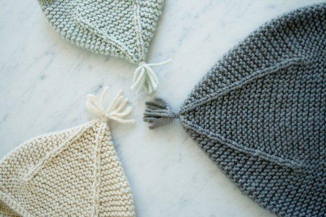 Garter Ear Flap Hat | Purl Soho - Create