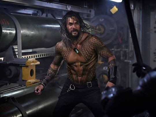 AQUAMAN: Arthur Curry Battles A Mysterious Foe In A Brand New Image From James Wan's Film