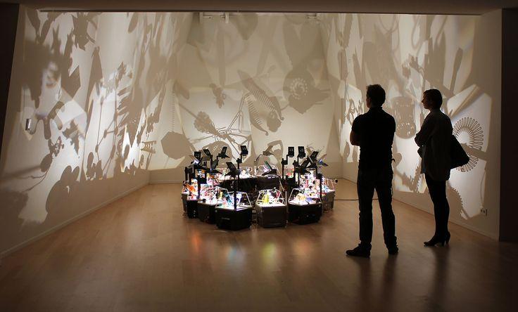 Shadow dance: temporary exhibition at Kade, Amersfoort, Netherlands