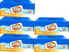 Diet Orange Crush 12oz Can 5 Small Vending Machine Calories Flavor Labels