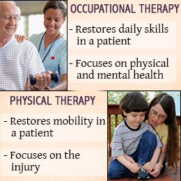 What is the difference between physical therapy and physical therapy?