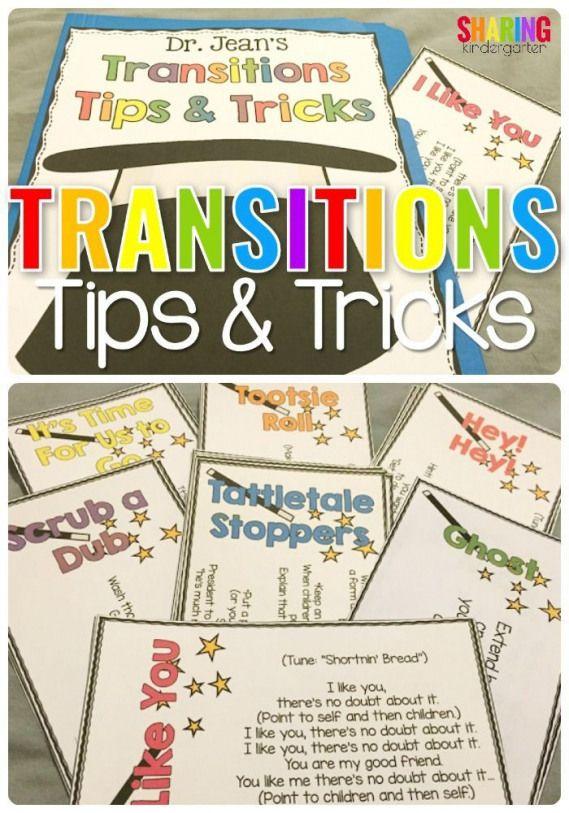 Helpful Ideas to make transitions easy in Preschool ...