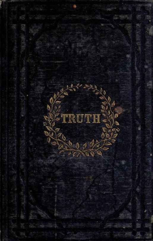 Book cover. Truth. 1854.