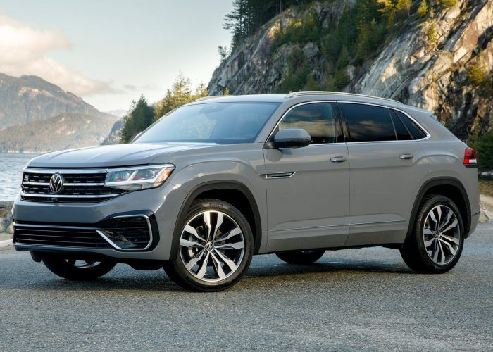 2021 Volkswagen Atlas Cross Sport First Review In 2020 Car Volkswagen Volkswagen New Cars