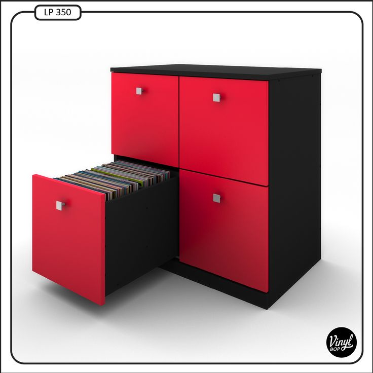 lp record cabinet by vinyl bop each drawer holds about 90