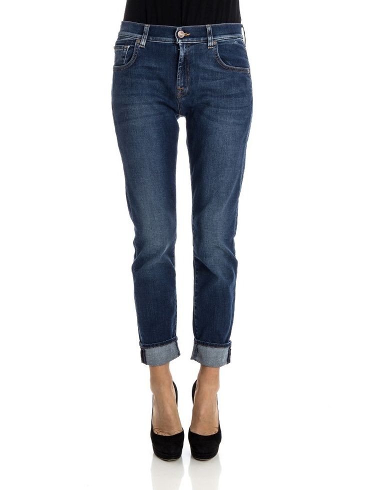 7 For All Mankind - Relaxed Skinny fit jeans - mid blue jeans  - ZO et LO