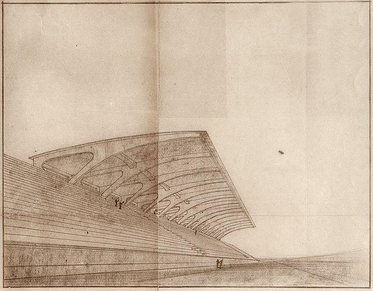 Nervi - Scala Stadio Firenze - Sketch