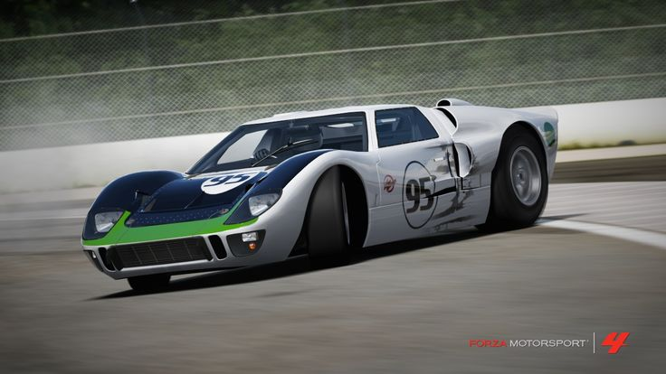 Design made by me based on a replica of slotcar. Photo taken in forza4