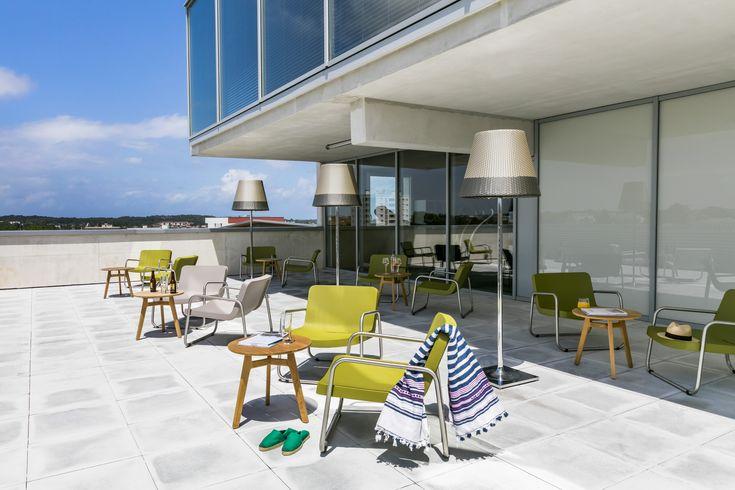 OKKO HOTELS Bayonne Centre : la terrasse