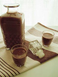 licor de chocolate