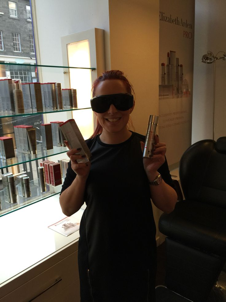 The solar eclipse was the perfect excuse to wear IPL goggles and also share Lauren's favourite product. Triple action protector with SPF 50 protects skin, whilst repairing skins DNA and providing free radical fighting antioxidants. #elizabethardenPRO #TAP50