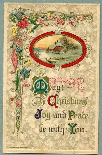 177 best Art Deco / Art Nouveau Christmas images on Pinterest ...