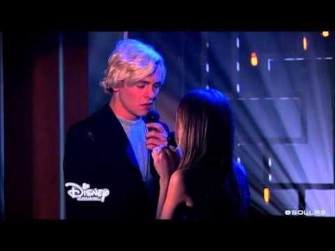 Austin & Ally - two in a million song - AUSLLY KISS! - YouTube