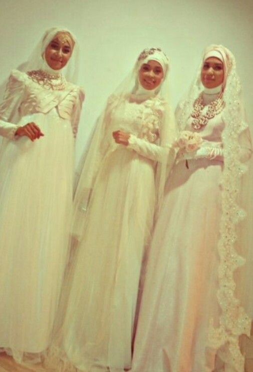 Wedding dress#Hijab