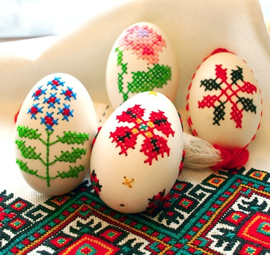 Cross stitch easter eggs by Forostyuk Inna - amazing