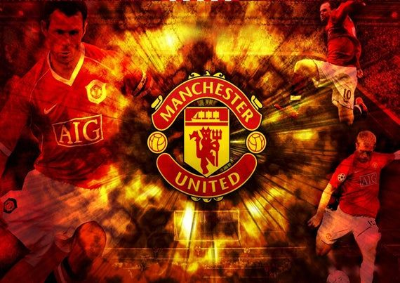 Manchester United Football Club 10 Wall Poster Glossy Paper 200 Gsm Size In 2021 Manchester United Wallpaper Manchester United Logo Manchester United Wallpapers Iphone