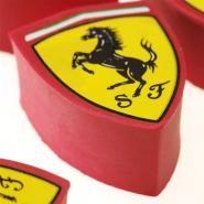 Box of Ferrari shield eraser #FerrariStore #Ferrari