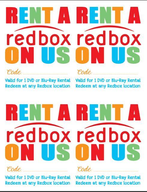 Random Happy - Gift a Redbox Movie Night