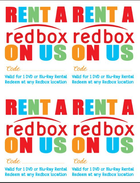 Random Happy - Gift a Redbox Movie Night