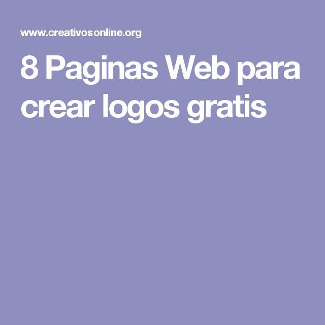 8 Paginas Web para crear logos gratis