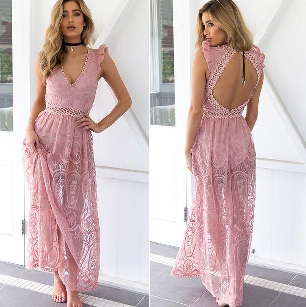 74 best Bohemian Dresses images on Pinterest   Bohemian kleider ...