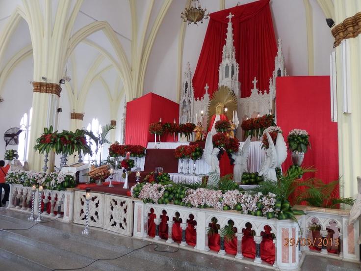 Iglesia Santa Lucia - Altar