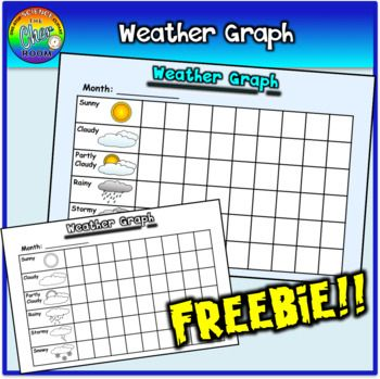 Get this free weather graph, comes in both coloured and black and white versions! If you find this weather graph style suits you, you can also build your own with my template: Build Your