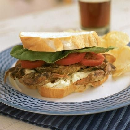 Soft-Shell Crab Sandwiches by Cooking Light