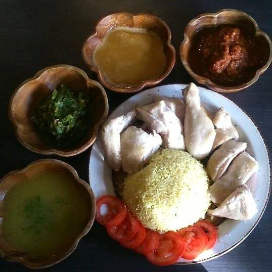 Recipe Hainanese Chicken Rice (Chinese Poached Chicken - Varoma Steamed) by Stone Soup - Recipe of category Main dishes - meat