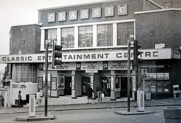 Tunbridge Wells cinema in1984