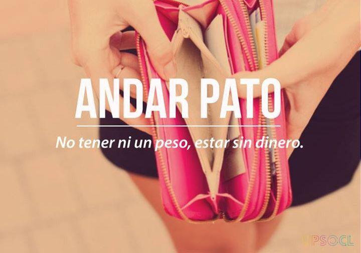Chilean Slang: Andar pato