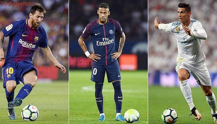 Messi, Cristiano Ronaldo y Neymar, los candidatos al premio The Best