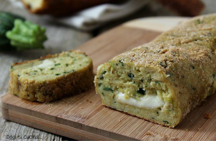 Polpettone di pane e zucchine