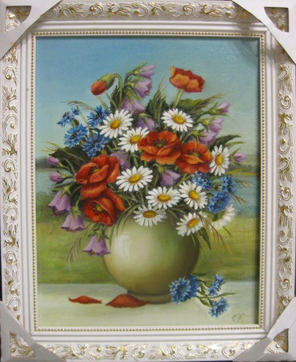 Летняя серенада (холст,масло)-художник Ядвига Сенько