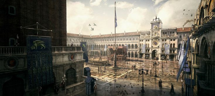 What It's Like to Be an Architectural Consultant for Assassin's Creed II, Concept art from Assassin's Creed II. Image © Ubisoft Montreal