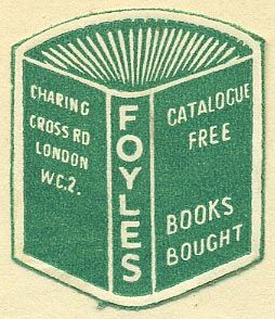 Little Foyles Bookstore Sticker