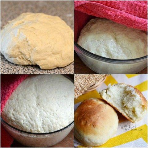 Potato Dinner Rolls from willcookforsmiles.com #bread #rolls