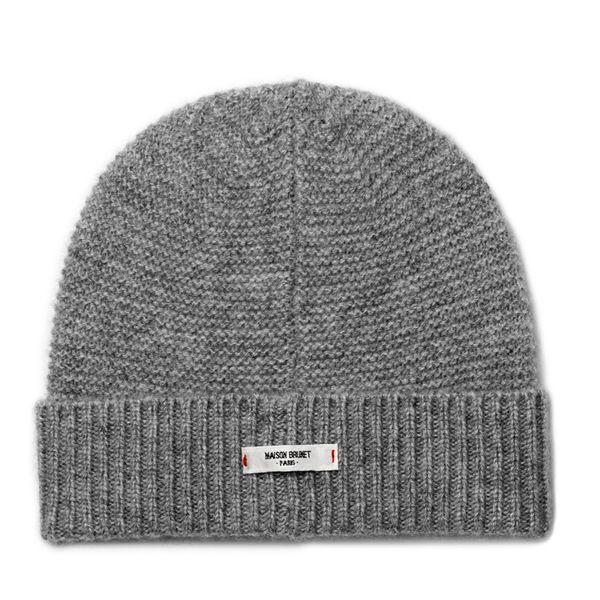 Bonnet bébé cachemire Paul gris chiné - MAISON BRUNET - http://www.maisonbrunet.com/product/bonnet-cachemire-paul-gris-chine?ref=category-bebe #cachemire #cashmere #knit #knitwear #bebe #baby #madewithlove #conçuaparisavecamour