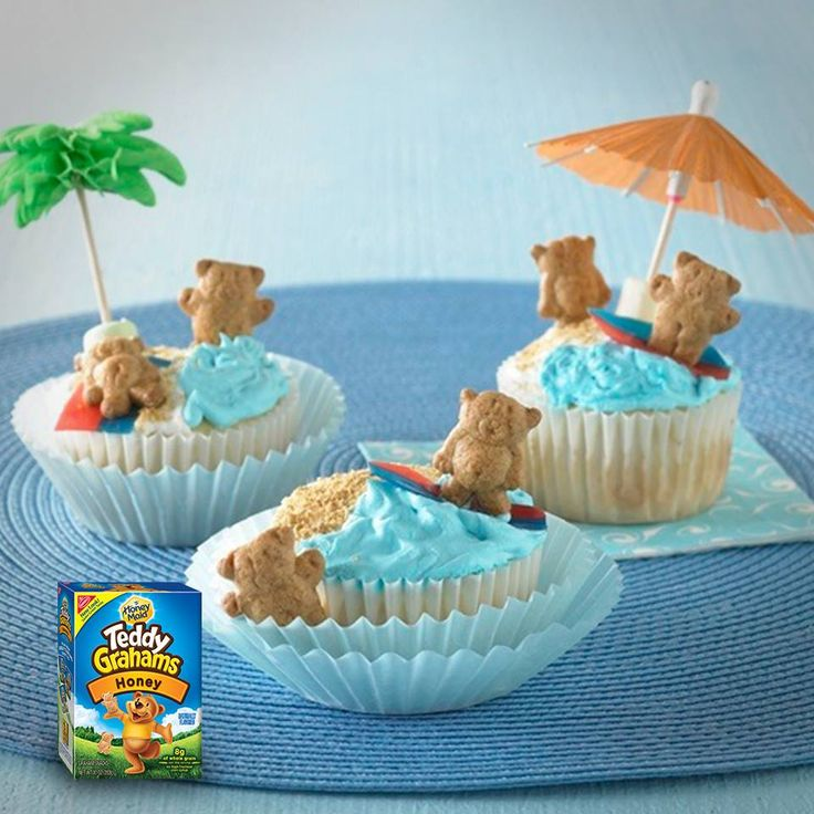 Take your Teddy Grahams on vacation with this recipe for Bears at the beach!