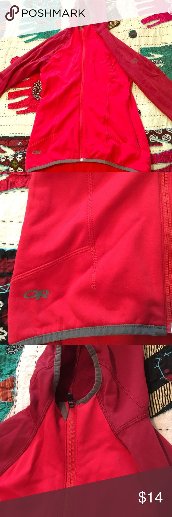Outdoor Research Zip Up Hoody GREAT used condition! Size XS. Outdoor Research Tops Sweatshirts & Hoodies